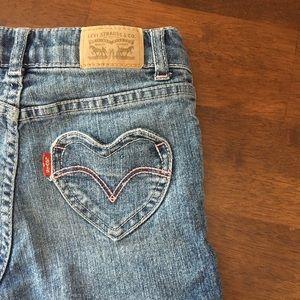 Levi's Bottoms - Girls jean shorts